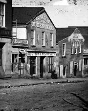 New 8x10 Civil War Photo: Auction House on Whitehall Street in Atlanta, Georgia
