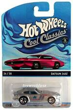 2015 Hot Wheels Cool Classics #26 Datsun 240z pink car on card