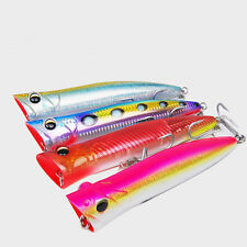 5PCS Fishing Deep sea Popper Ocean Boat Metal Jigging Jigbait Spoon Lure 90g