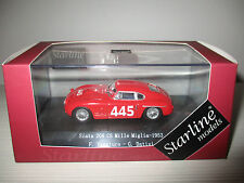 SIATA 208 CS  MILLE MIGLIA 1953-N.159449-STARLINE SCALA 1:43
