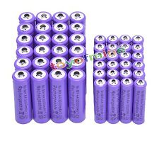 24 AA 3000mAh + 24 AAA 1800mAh Ni-Mh Rechargeable Battery Cell for MP3 RC Toy