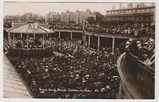 Essex postcard - Sunk Band Stand, Clacton on Sea - RP