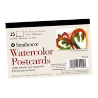 """Strathmore Watercolor Postcards 15 Pack 4x6"""""""