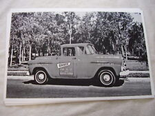 1958 Chevrolet Truck 2 Cabs End To End 11 X 17 Photo Picture