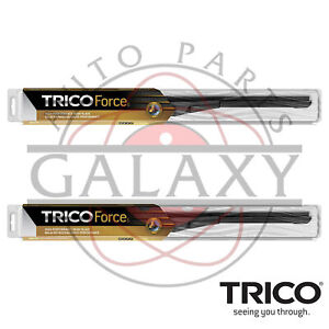 Trico Force Beam Front Wiper Blades Pair For Chevy GMC Silverado Sierra 07-18