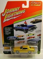 1974 '74 FORD GRAN TORINO LIGHT YELLOW GOLD JOHNNY LIGHTNING CLASSIC GOLD 2017