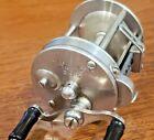 Heddon 3-25 German silver level wind casting reel