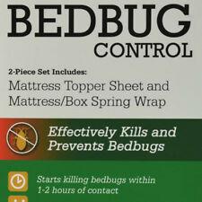 KiltronX Bedbug Solution Mattress Topper Sheet & Mattress Wrap Set.Size Full