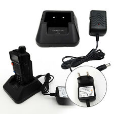 Battery Charger EU Plug Power Adapter for BaoFeng UV5R Plus UV5RA Plus UV5RE