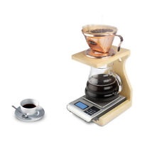 Wood Coffee Dripper Stand for Pour Over Coffee Filters Coffee Filter Holder
