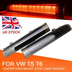 For VW Volkswagen Transporter T5 T6 Barn Door Smoked 3rd High Brake Light