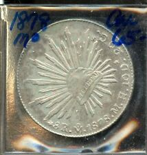 1878 Mexico 8 Reales Coin FT960