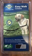 PetSafe Easy Walk Dog Harness Size Large Black Silver New