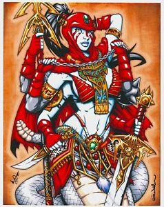 Gilgalith Print, Art by Garrett Blair (11x14) - Comic Art