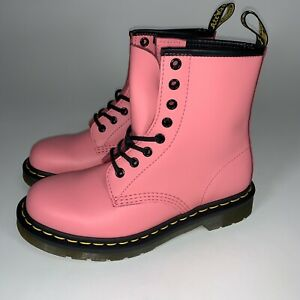 Dr. Martens Women's Pink Smooth US Womens 6/ Men's 5. New Authentic 🔥 Rare