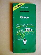 Guide Michelin La Grèce /C35