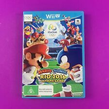 Mario & Sonic at the Rio 2016 Olympic Games - Wii U - PAL - AUS