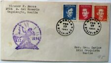 Philippines WW2 Cover 1944. National Heroes