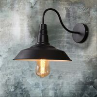 Iron Retro Vintage Industrial Loft Rustic Wall Sconce Light Lamp  Indoor Fixture