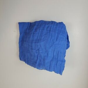Aden + Anais Crib Sheet Muslin Blue
