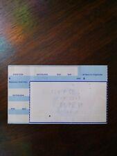 TOM PETTY / HEARTBREAKERS 9/12/91 Palace Of Auburn Hills MI Concert Ticket Stub