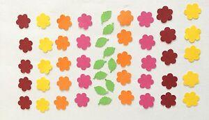 Stanzteile/Streuteile Blumen-Mix 1900, 50tlg.,1,5cm
