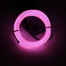 Lerway Rosa 3 M TRON Neon Brillante Elettroluminescente Filo EL con trasformatore.