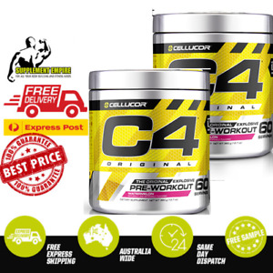 2 X Cellucor C4 ORIGINAL ID SERIE Pre Workout Preworkout 60 serves TWIN PACK