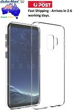 Samsung Galaxy S9 Silicon Case Cover Phone Cover Protection Clear AU STOCK