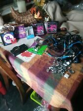 Electric Guitar Multiple Accessory Lot. Strings Hot Rails Cables Etc Absolute