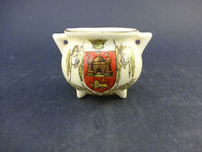 Arcadian China Model of a Cauldron with Arms of Norwich: For P.J. Phipps