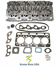 New KumarBros USA BOBCAT S185 KUBOTA V2003 Complete Cyl Head & Upper Gasket Set