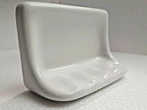 Kohler White Ceramic Soap Dish Tray Vintage Daltile Color K101 Mid Century Retro