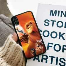 The Lion King Simba Cartoon Silicone Phone Cover Case for Apple iPhone Samsung