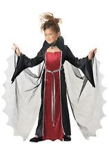 Vampire Girl Dracula Child Halloween Costume Fancy Dress Size Large