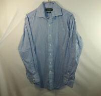 Ralph Lauren Long Sleeve Oxford Dress Shirt Mens Classic Fit Size 14.5 32 / 33