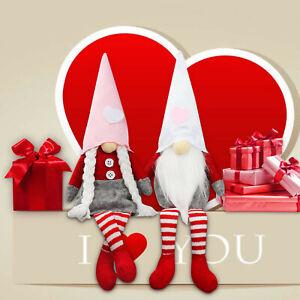 Valentines Day Gnome Plush Faceless Doll Decorations-1/2PCS Valentine's Present