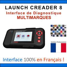 LAUNCH CREADER 8 Diagnostique Lecteurs Code Scanner Moteur ABS SRS OBD2 CRP129