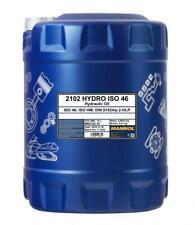 MANNOL 10L Hydraulic Oil 46 Fluid HLP 46 High Grade 10 Litres ISO 46 DIN 51524