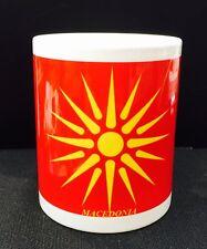 MACEDONIAN Coffee Mug & Tea Cup 11oz Ceramic Mug Brand New