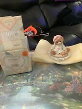 Vintage Calico Kittens Just Thinking about You Enesco 1992 Cat Figurine 627917