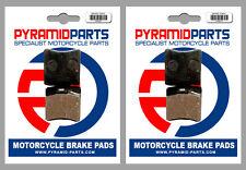 KTM RLW 80 1980 Front & Rear Brake Pads Full Set (2 Pairs)