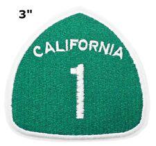 "Souvenir Patch ""CALIFORNIA 1"" State Tourism National Park Iron-On Appliques"