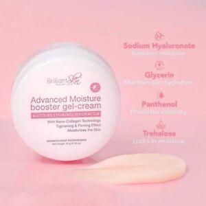 2 x Advance Moisturising & Hydrating Booster Gel Cream Brilliant 10g each