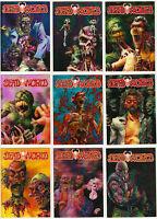 Deadworld Trading Cards ~ MINI-MASTER SET (72-Card Base Set + 2 Insert Sets)