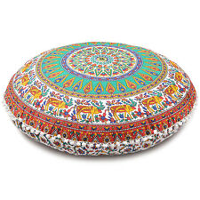 Floor Cover Bohemian Pillow Cushion Throw Decorative Patchwork Seating Cover