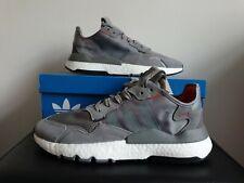 Adidas Originals Nite Jogger 3M Grey Mens Trainers Shoes UK 9.5 EU 44 US 10
