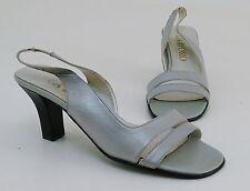 Elegante Damen-Sandalen & -Badeschuhe mit Pump-Absatzart aus Echtleder für Hoher Absatz (5-8 cm)