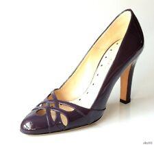 new $468 ALEXANDRA NEEL dark purple heels shoes 36 6 - classy