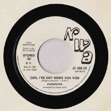 Casanova / Gloria Gaynor ‎– Girl I've Got News For You / I Will Survive   € 6,00